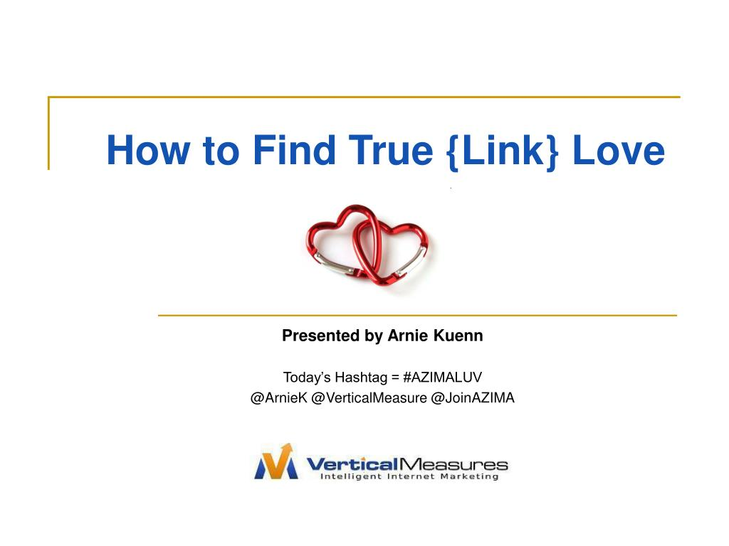 how to find true link love l.
