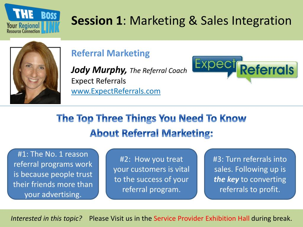session 1 marketing sales integration l.