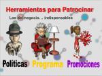 herramientas para patrocinar7