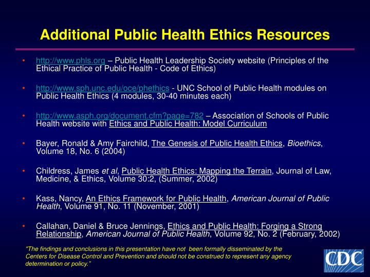 should medical ethics be influenced on All people with whom occupational health professionals come in contact should be treated in an equitable manner, without any form of discrimination with regard to age, sex, social status, ethnic background, political or religious opinions, the nature of the condition, or the reasons that they need medical interaction.