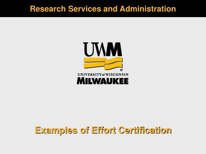 research services and administration n.