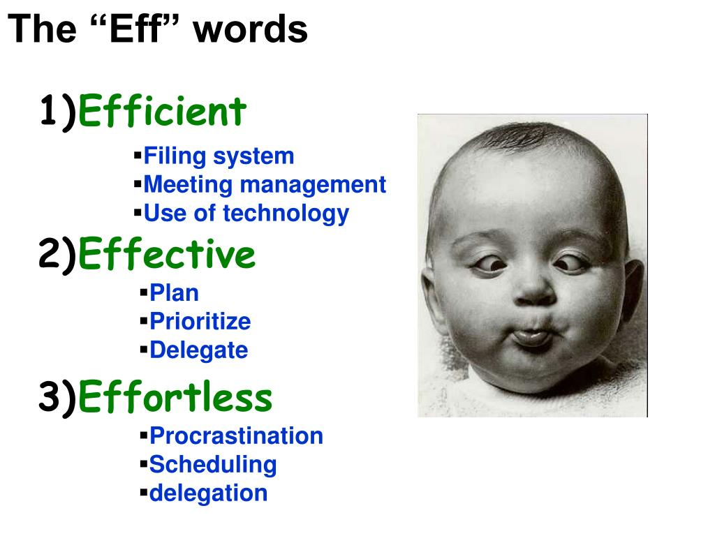 """The """"Eff"""" words"""