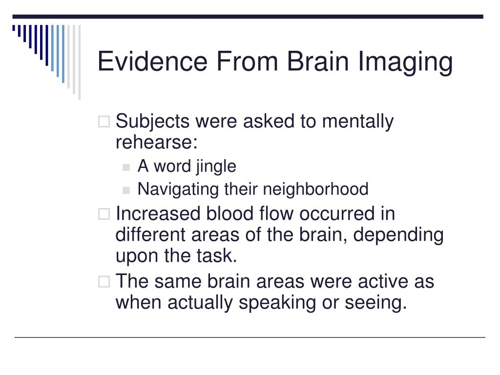 Evidence From Brain Imaging