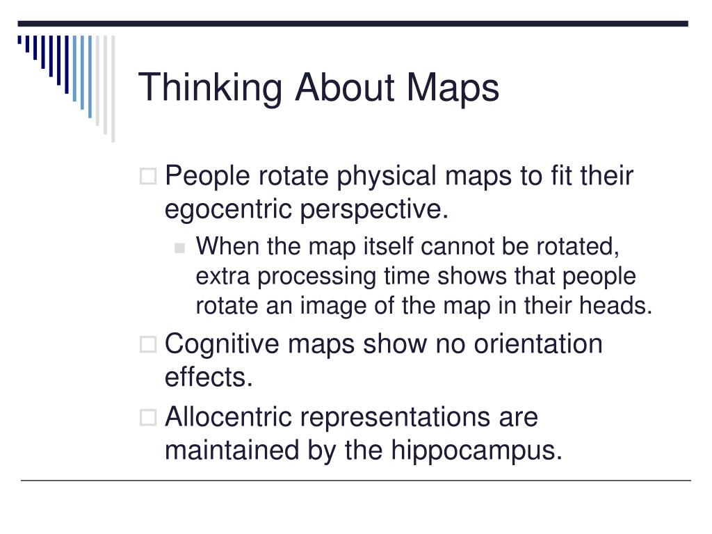 Thinking About Maps