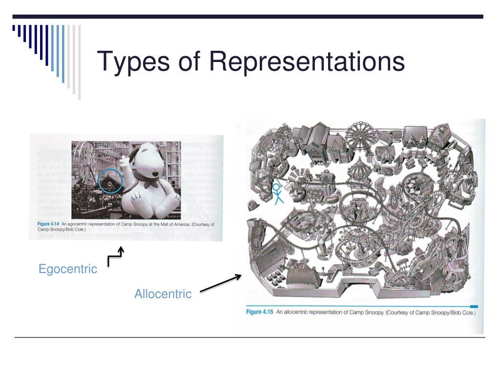 Types of Representations