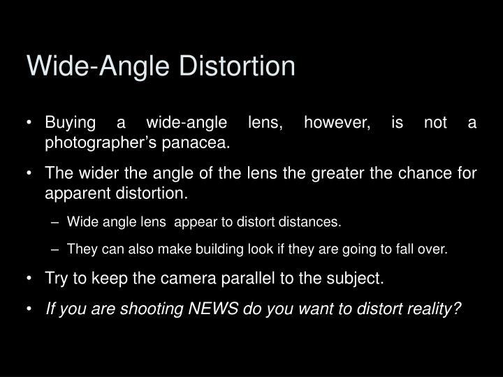 Wide-Angle Distortion