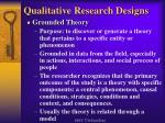 qualitative research designs10