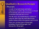 qualitative research designs12