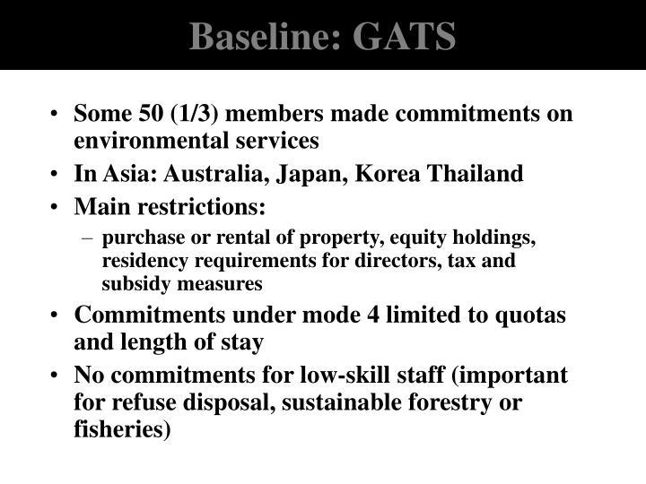 Baseline: GATS