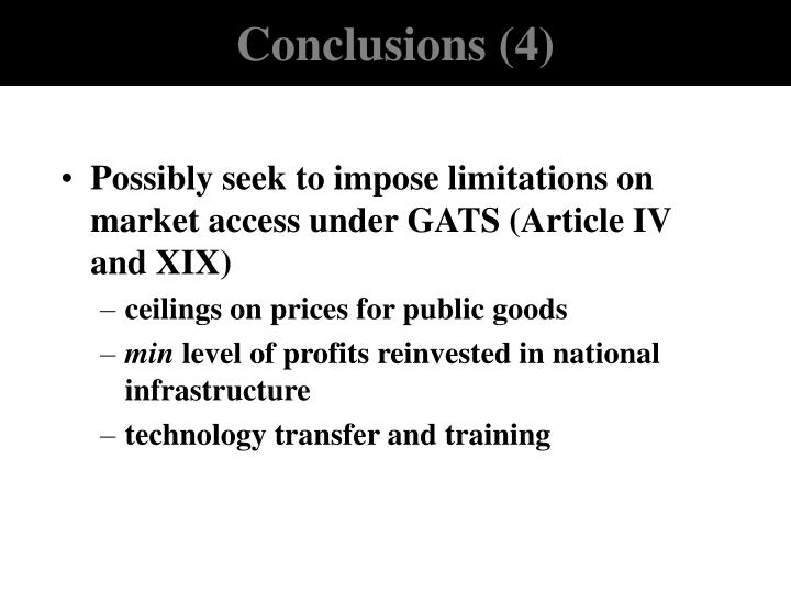 Conclusions (4)