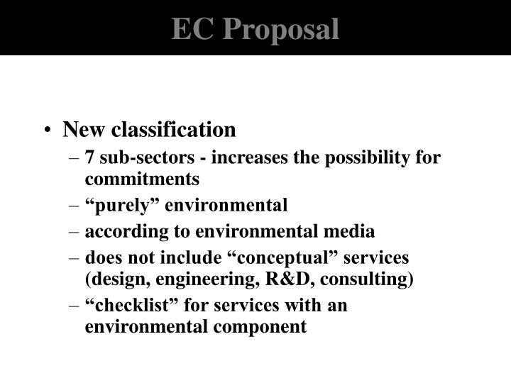 EC Proposal