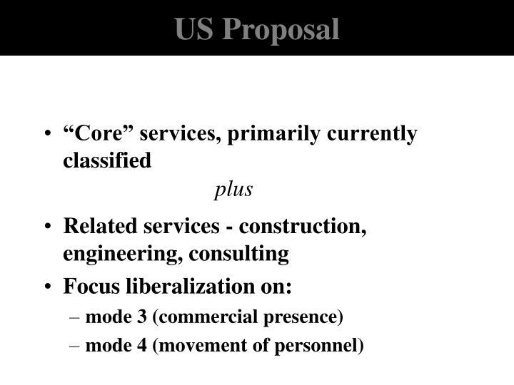 US Proposal