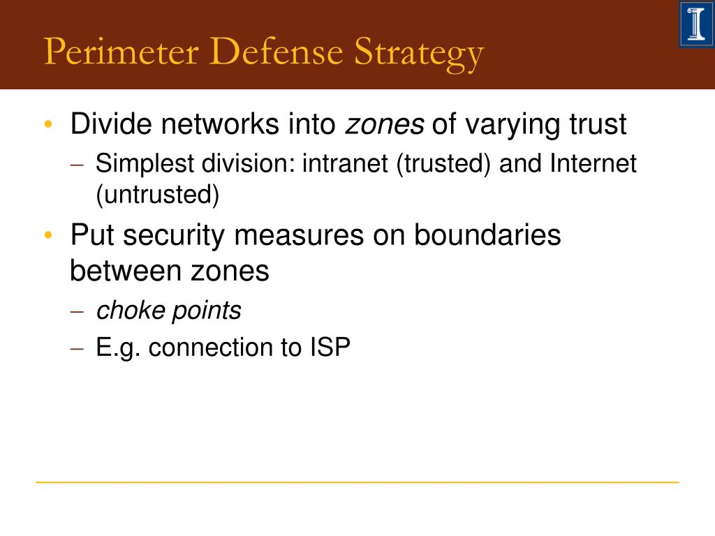 perimeter defense strategies