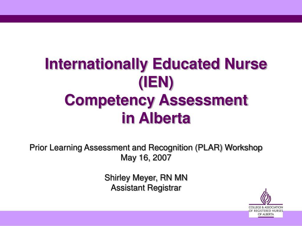 plar prior learning assessment