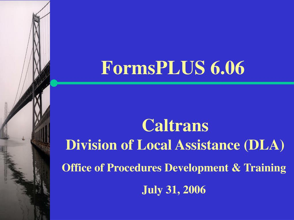 FormsPLUS 6.06