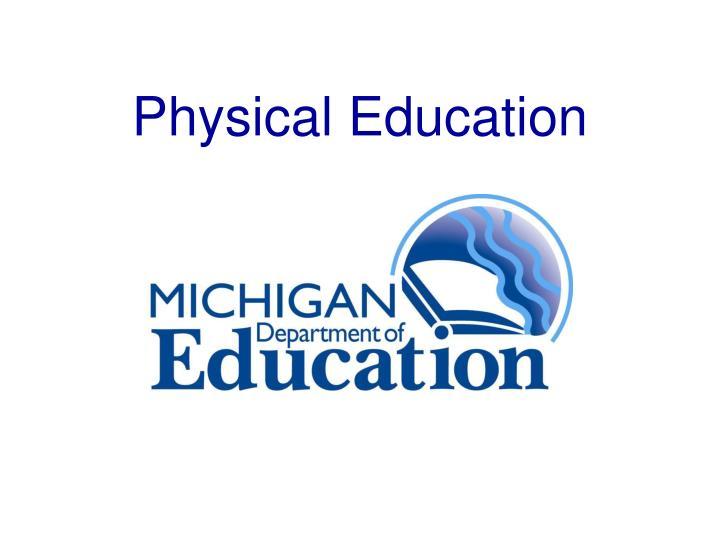 physical education n.