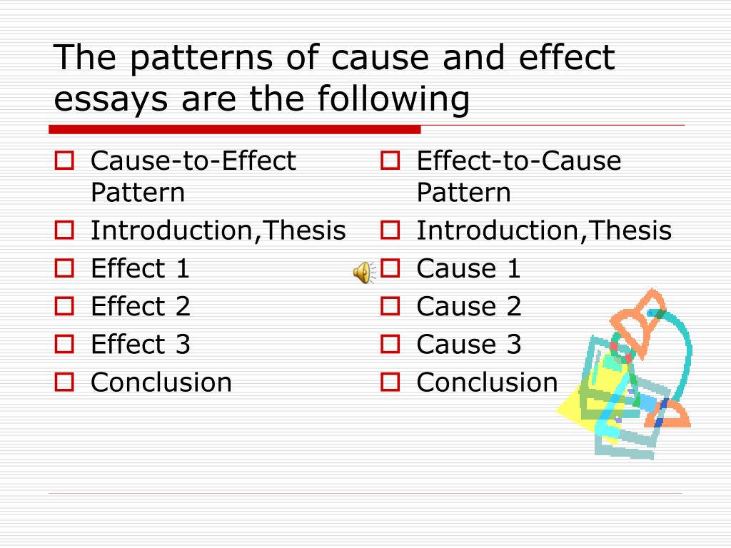 cause and effect presentation topics