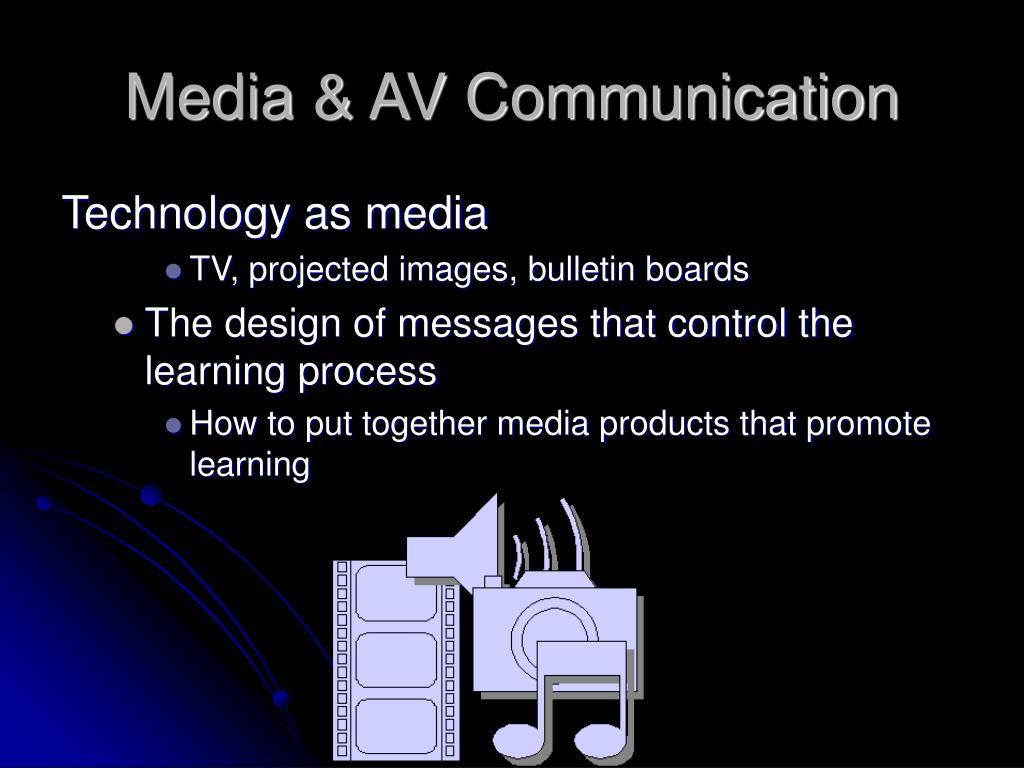 Media & AV Communication