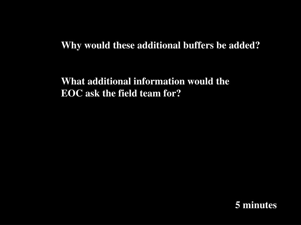 Why would these additional buffers be added?