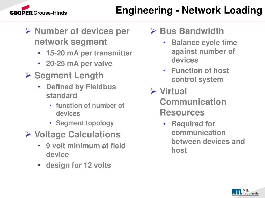 Number of devices per network segment
