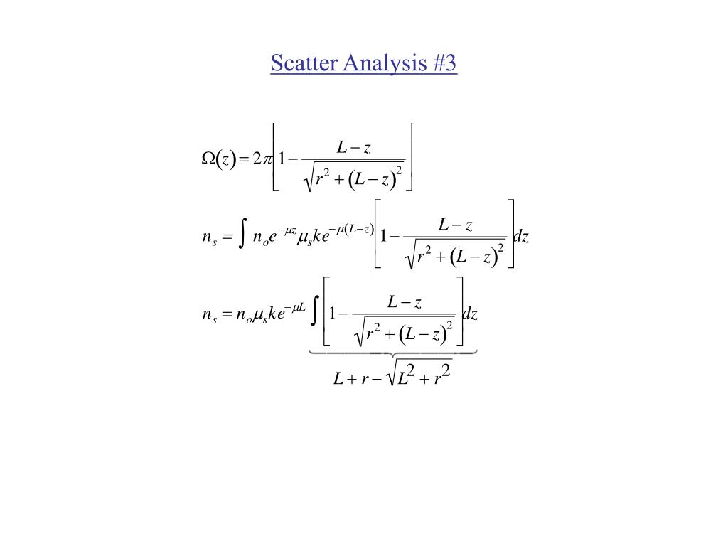Scatter Analysis #3