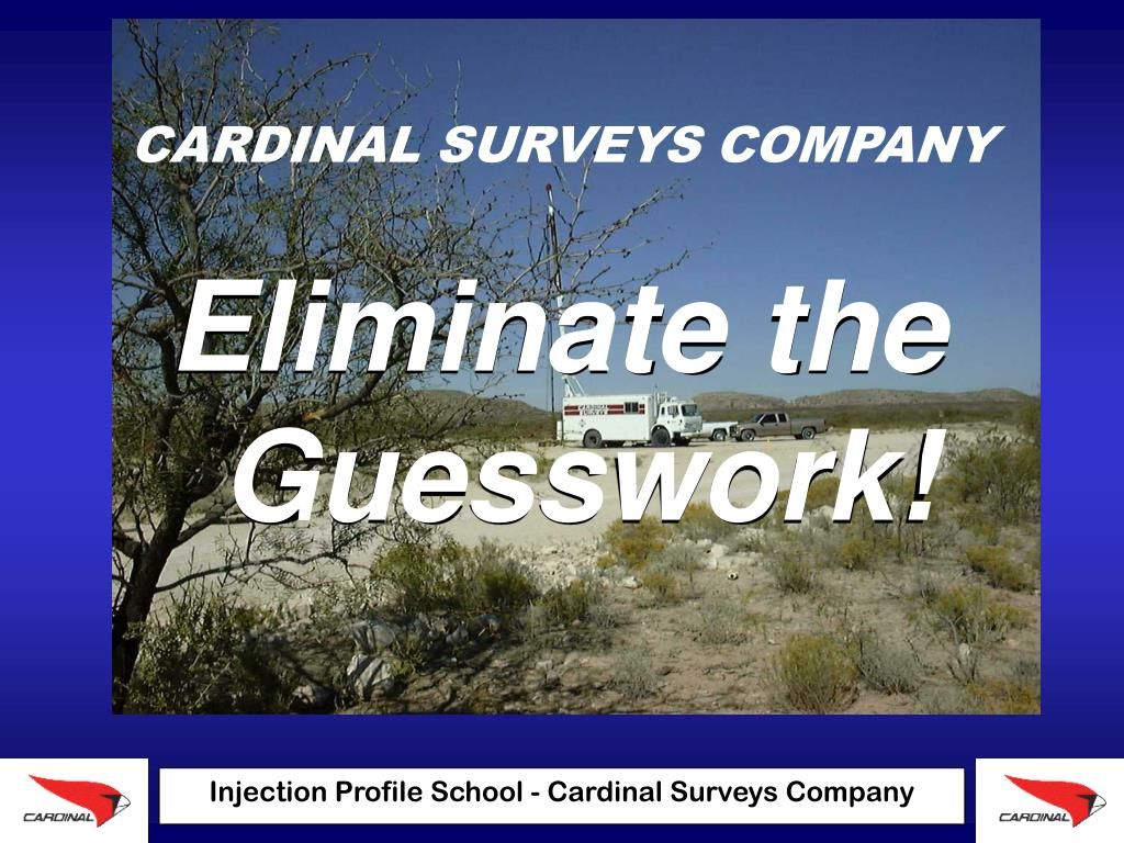cardinal surveys company l.