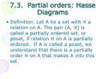 7 3 partial orders hasse diagrams