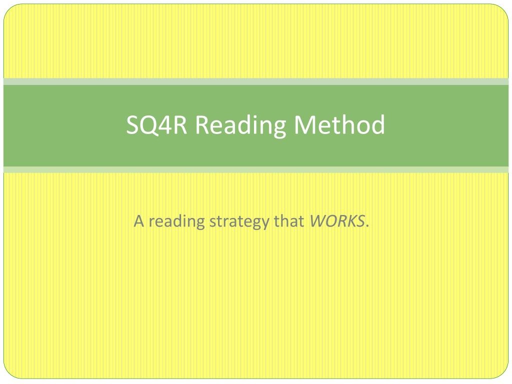 what does sq4r mean