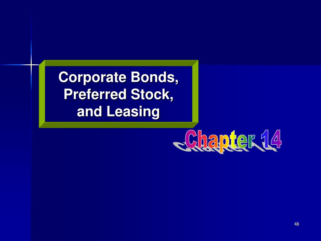Corporate Bonds,