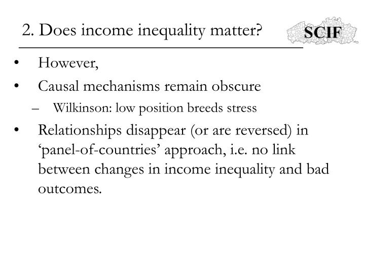"""does inequality matter 2014-4-21 does inequality matter christopher jencks, malcolm wiener professor of social policy at the kennedy school at harvard university, has been a fellow of the american academy since 1992 the author of several classic works, including """"inequality: a reassessment of."""