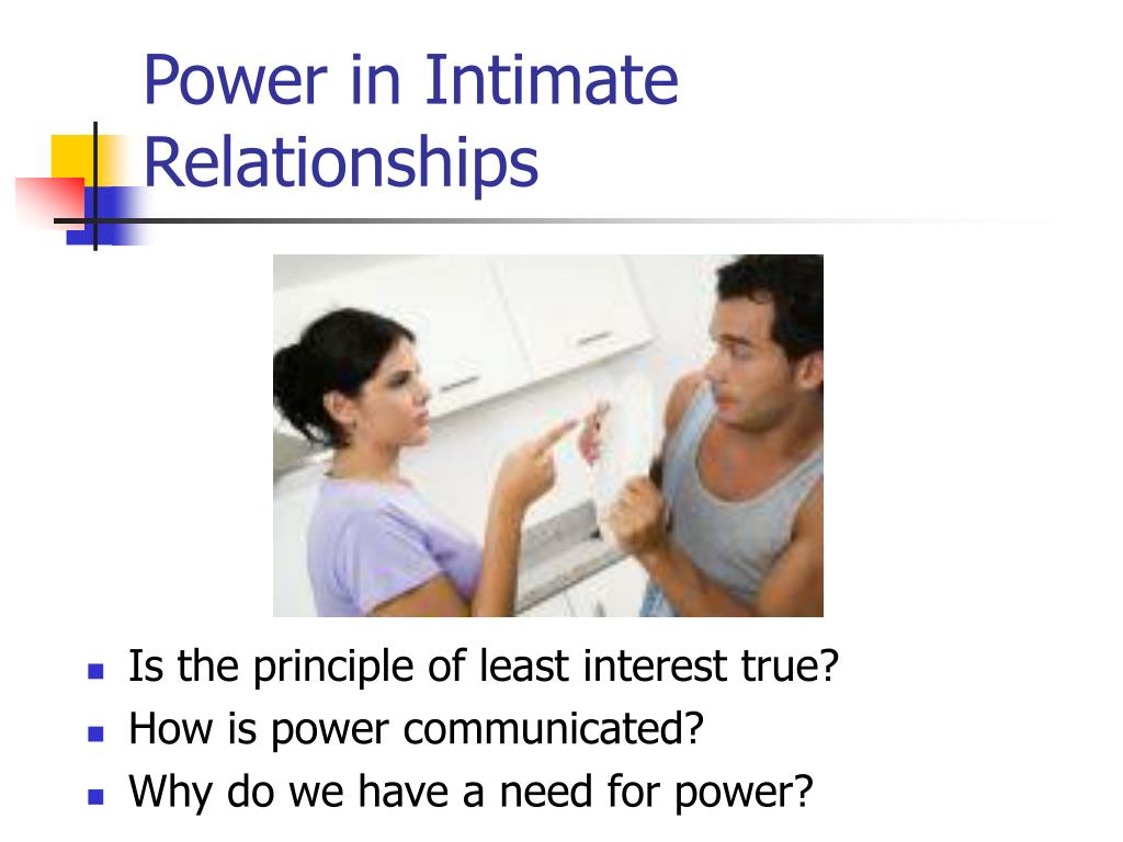Principle of least interest relationships