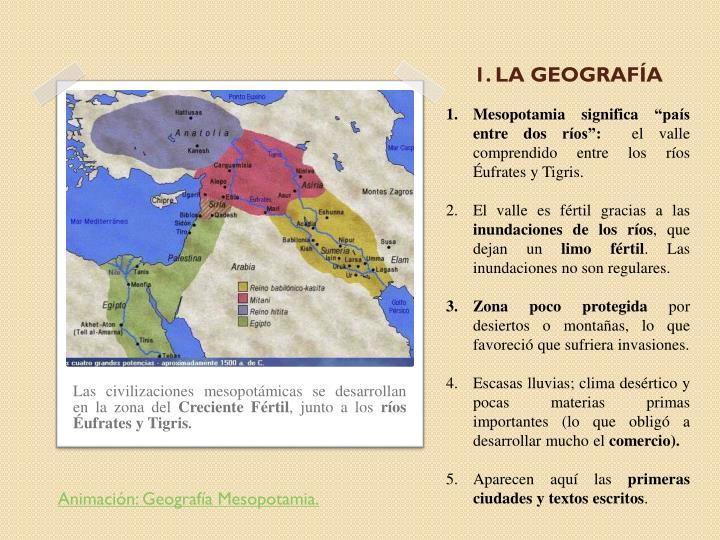 1 la geograf a