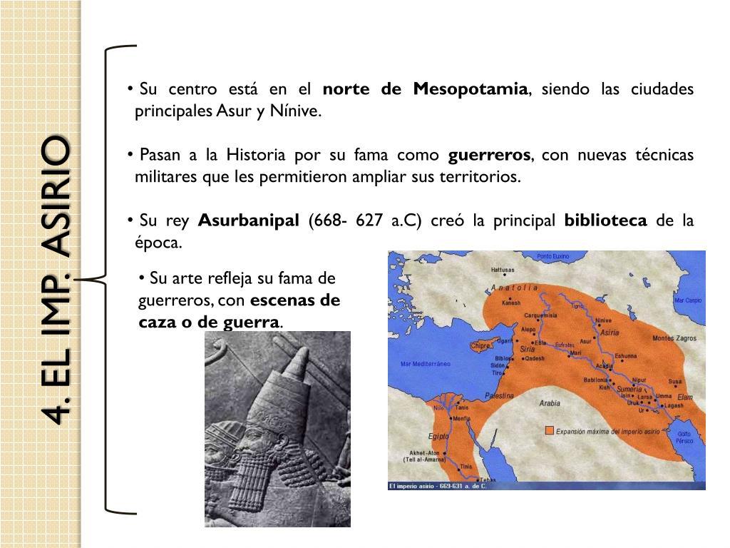 4. EL IMP.  ASIRIO