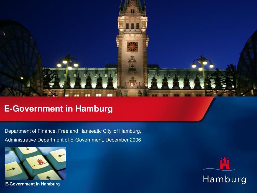 E-Government in Hamburg