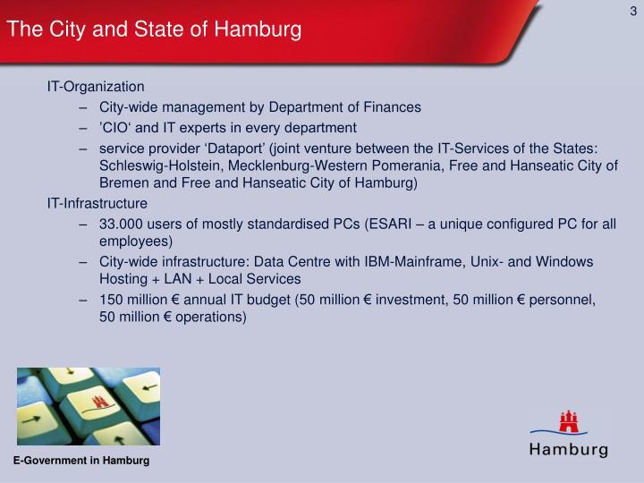 The city and state of hamburg