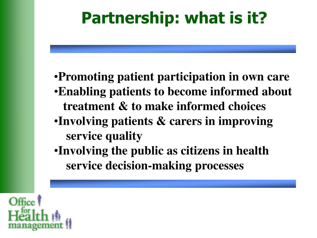 Partnership: what is it?