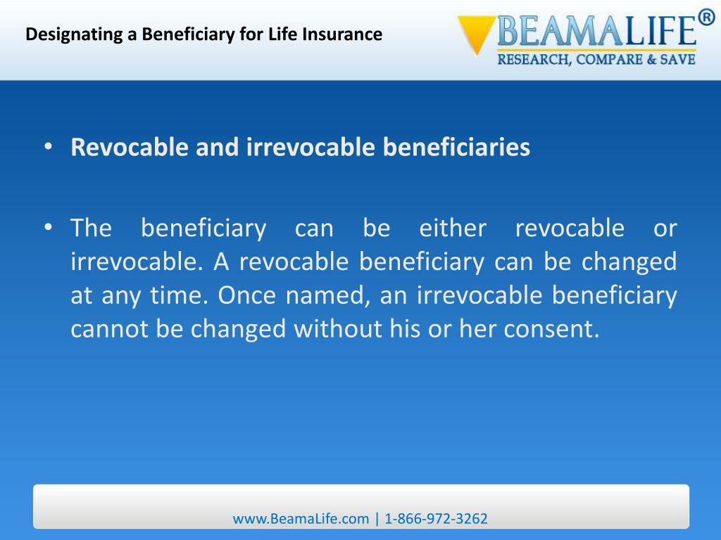 Designating a Beneficiary for Life Insurance
