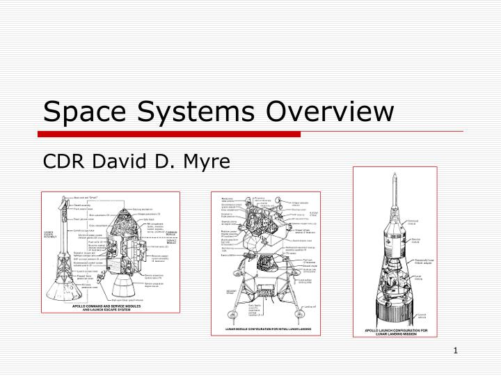 space systems overview n.