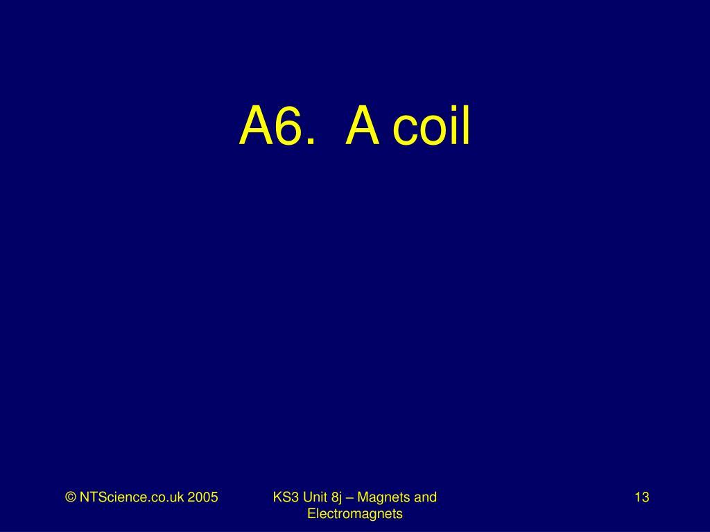 A6.  A coil