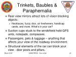 trinkets baubles paraphernalia