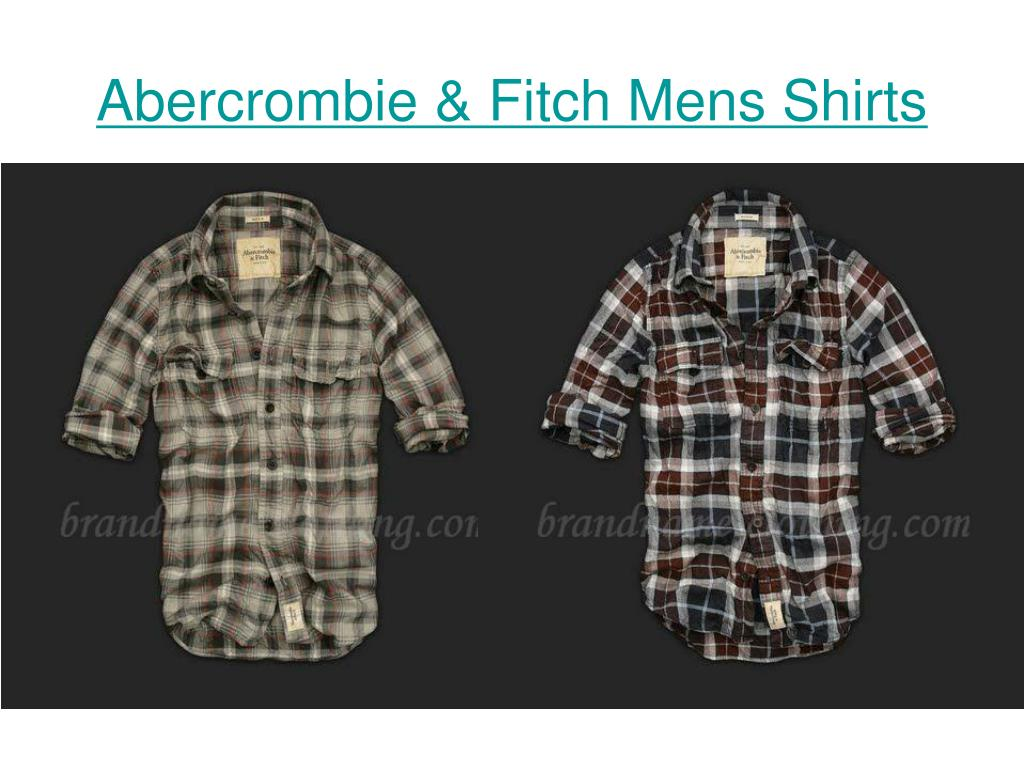 abercrombie fitch mens shirts l.