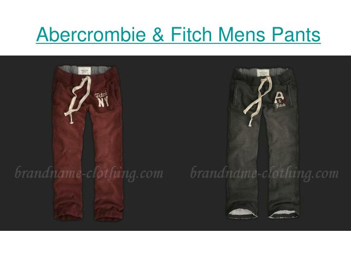 Abercrombie fitch mens pants