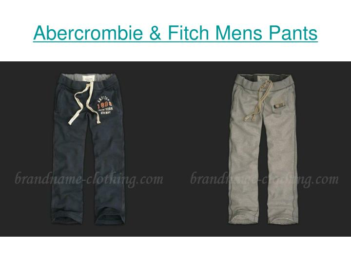 Abercrombie fitch mens pants3