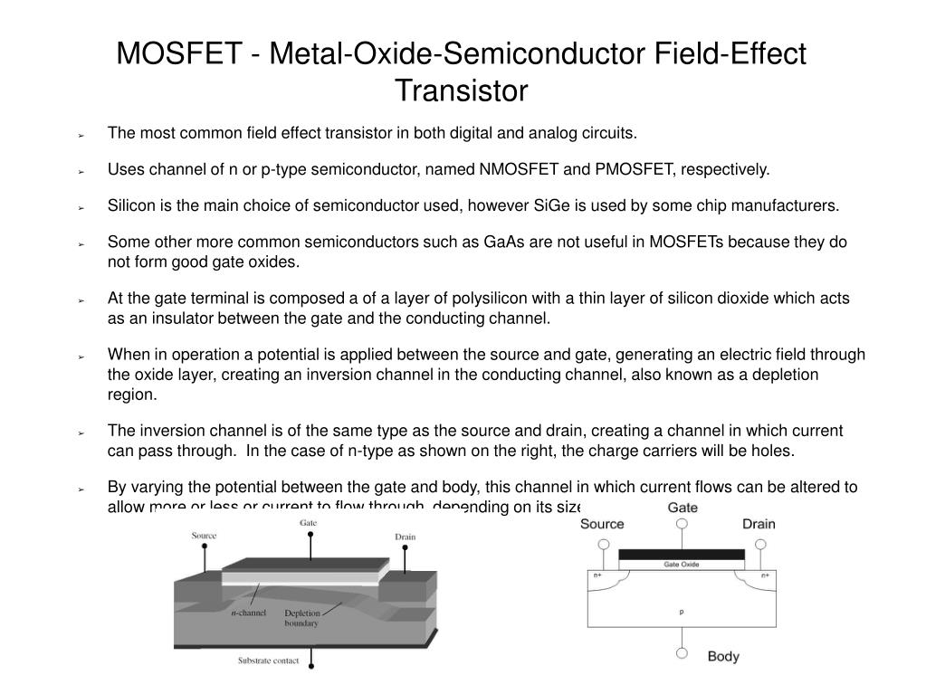 mosfet metal oxide semiconductor field effect transistor l.