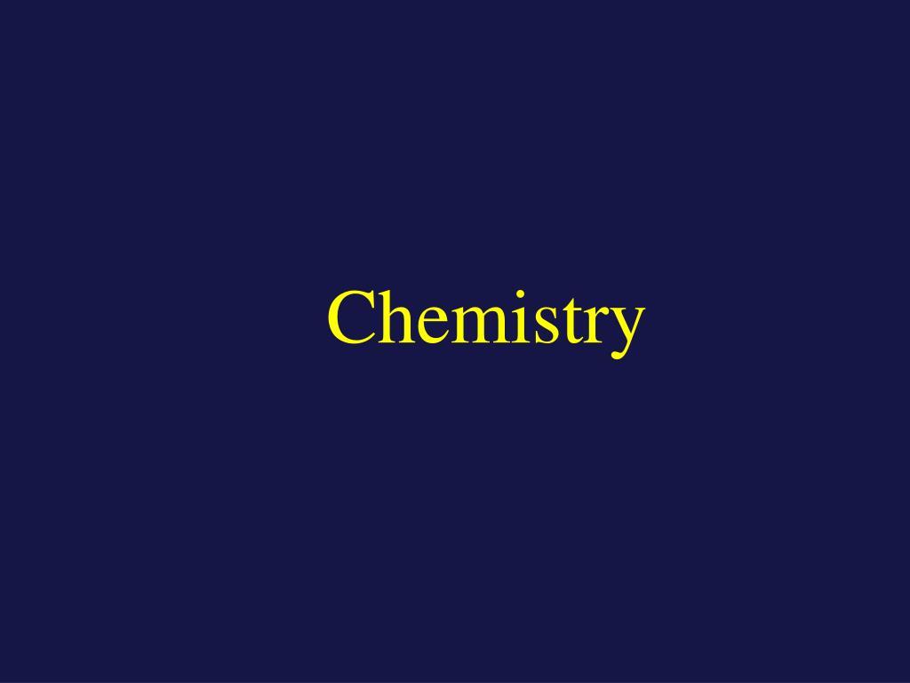 chemistry l.