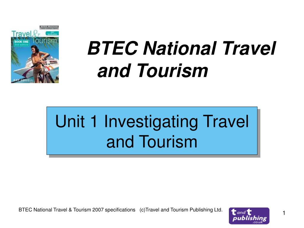 btec national travel and tourism l.