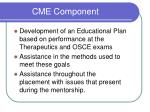 cme component