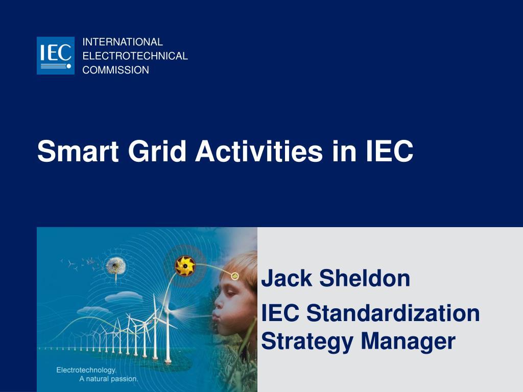 smart grid activities in iec l.
