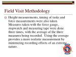 field visit methodology