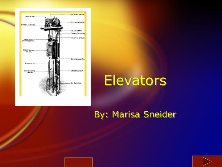 elevators n.
